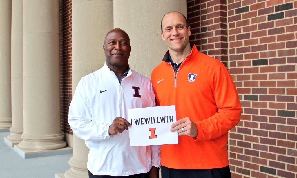 Photo Courtesy @IlliniAD on Twitter