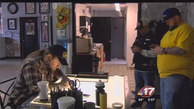 Decatur business participates in just one shift to fight for Oakwood tattoo decatur il