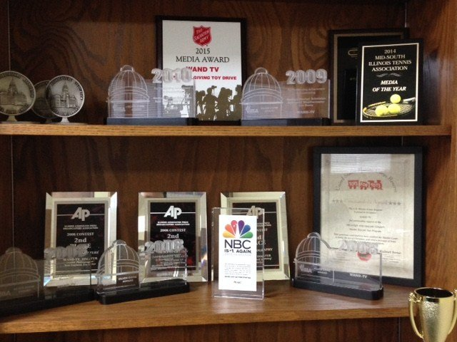 WAND News team nominated for several honors  Wandtvcom
