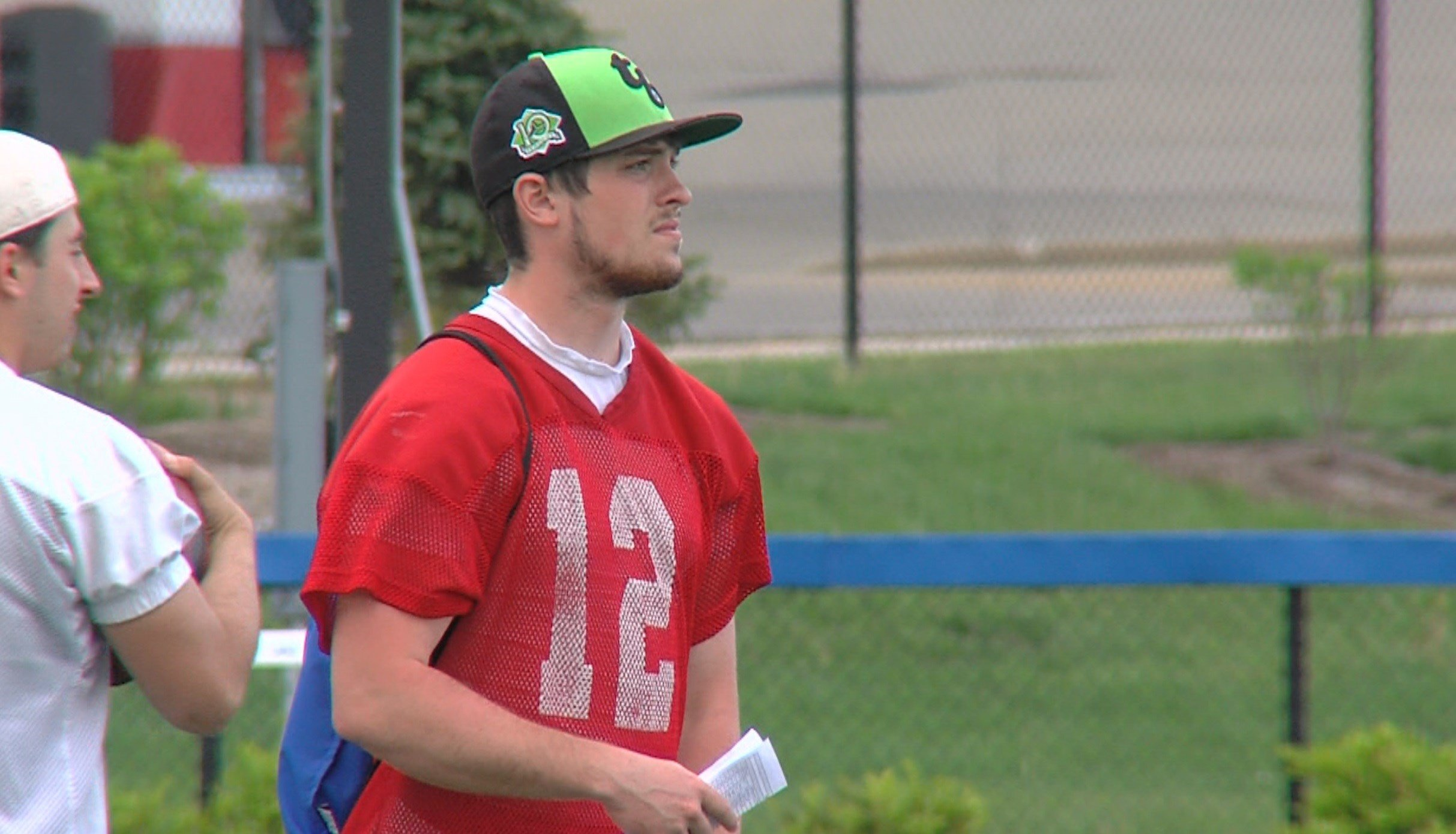 Millikin junior quarterback Nicco Stepina will miss the rest of spring practice with an unspecified injury.