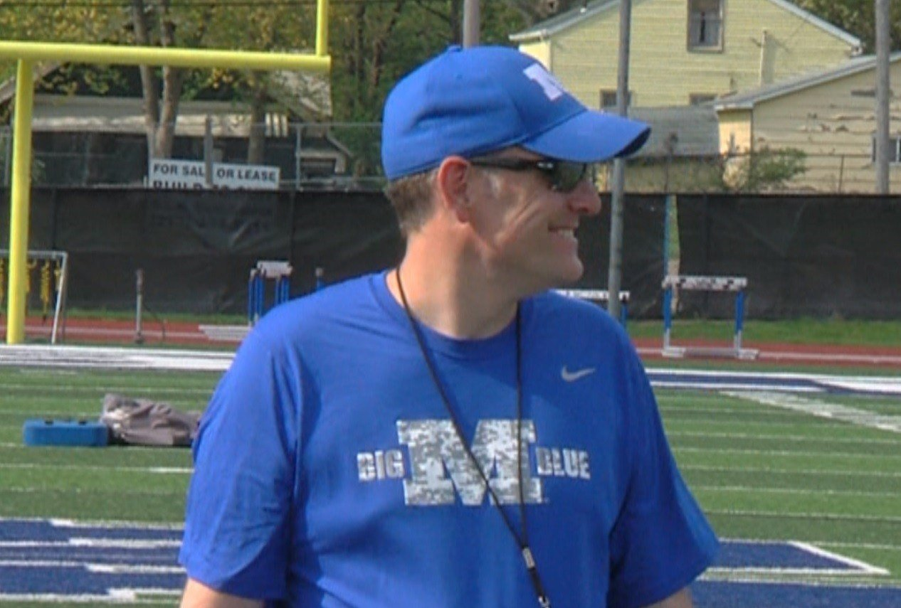 New Millikin head coach Dan Gritti, a former New York corporate attorney, traded in the courtroom for the football field.