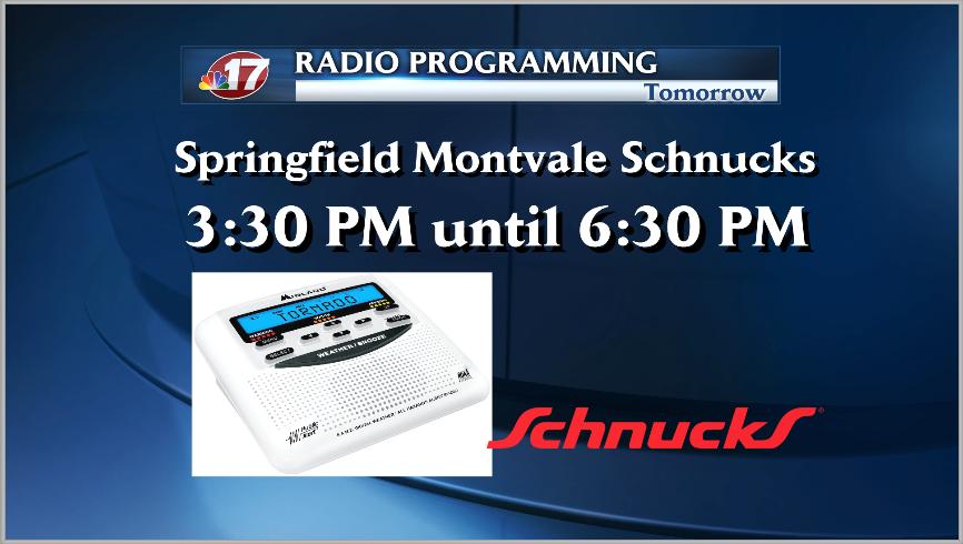 Weather Radio Programming in Springfield Today  Wandtv