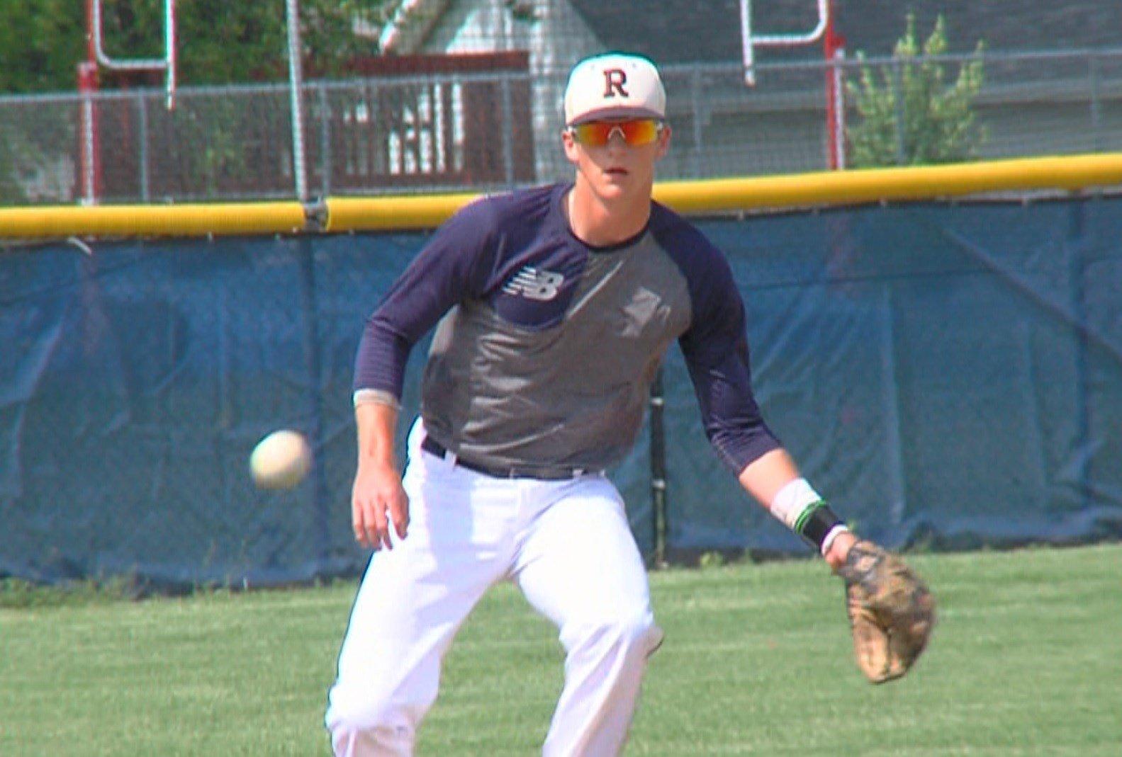 Tyler Fitzgerald stole 36 bases as a senior in the regular season.