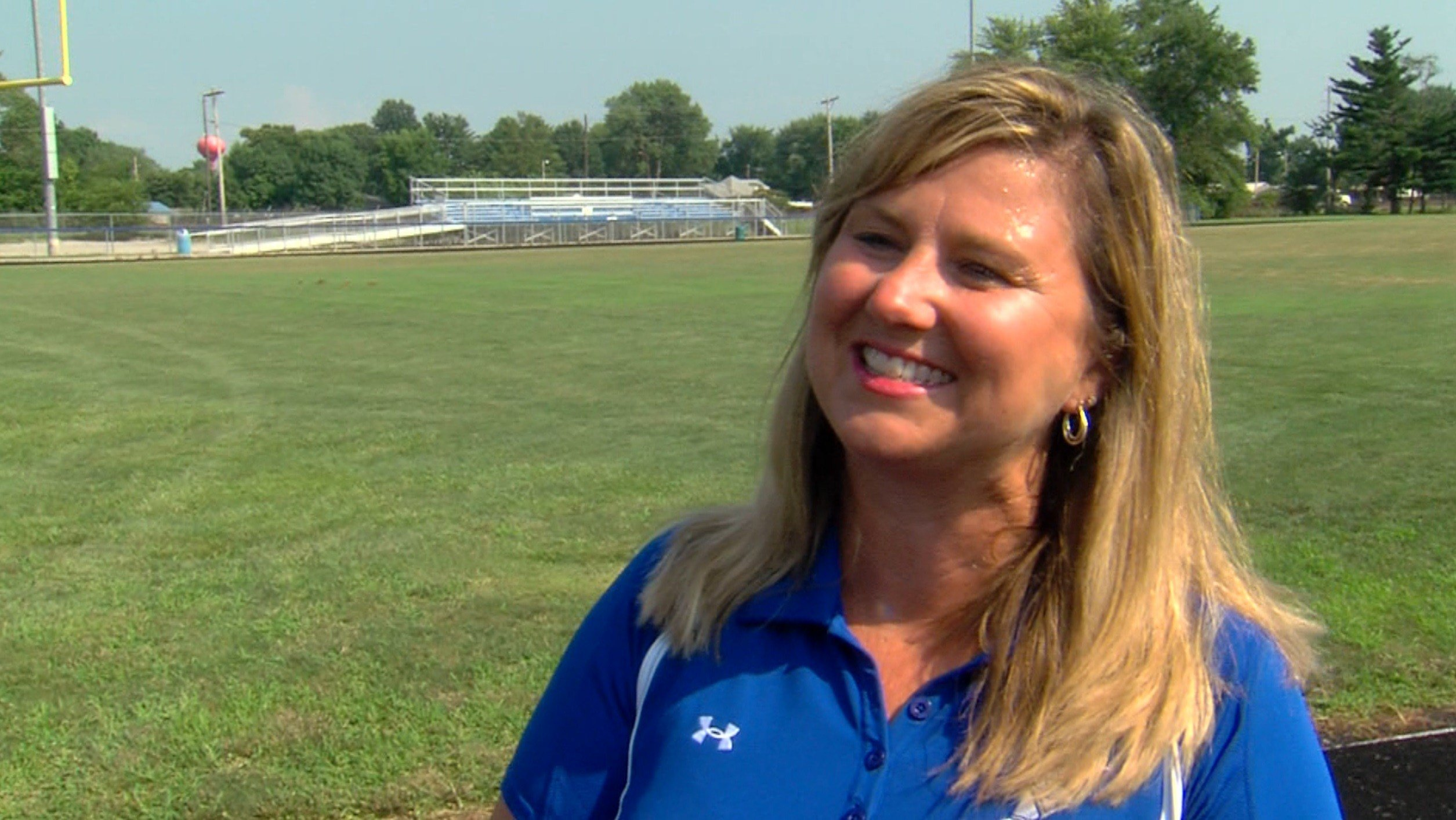 Shelly Wills, Carlinville girls track and field head coach