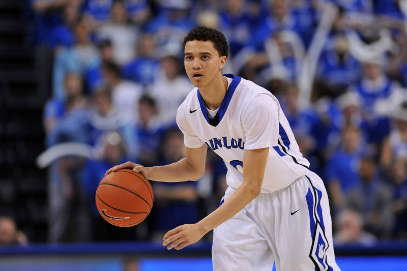 Marcus Bartley played in 64 games in two seasons at Saint Louis University. (photo: SLU Athletics)