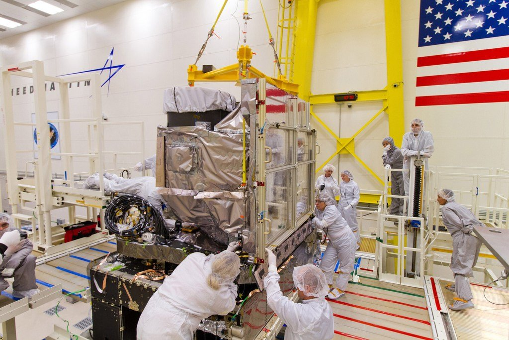 GOES-R satellite. Credit: NOAASatellites