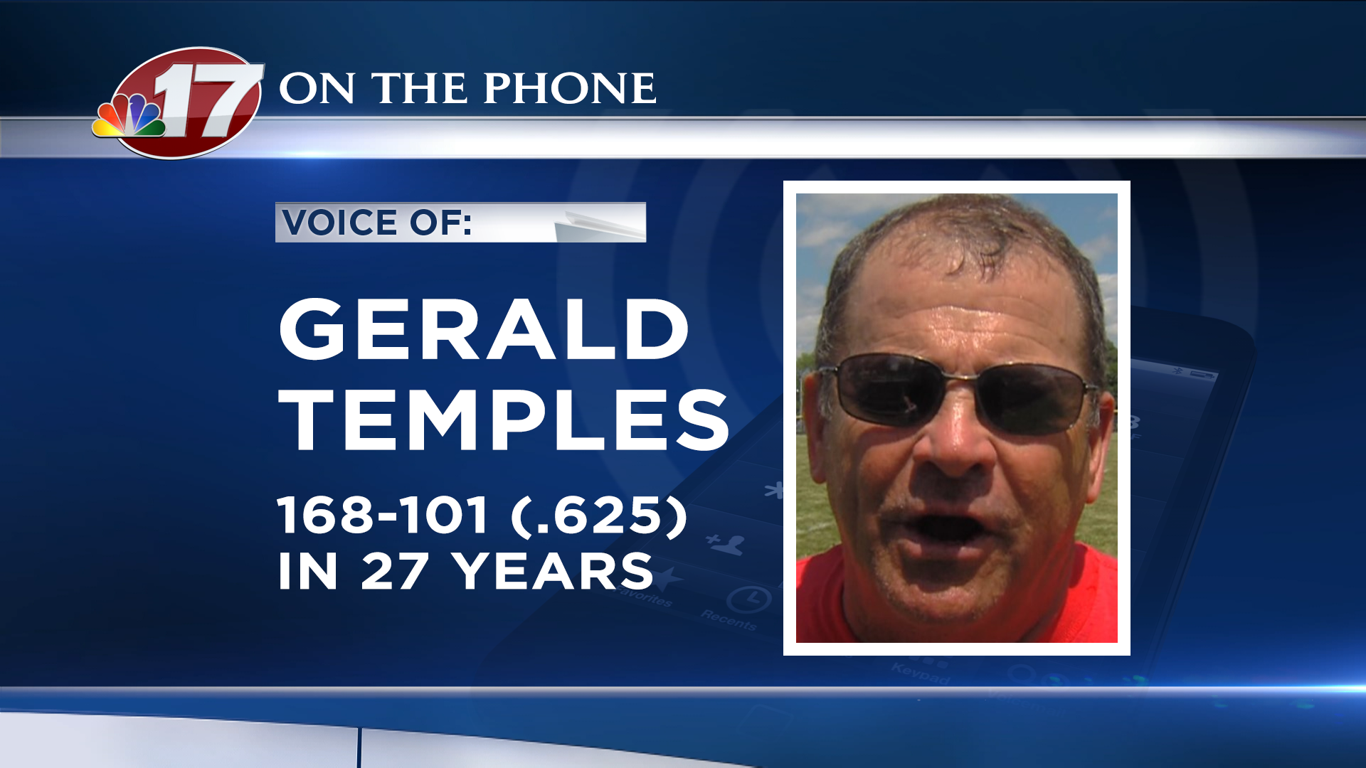 Longtime head coach Gerald Temples' legacy lives on through his son Wes Temples (head coach of Normal Community) and his son-in-law Brett Hefner (Effingham).
