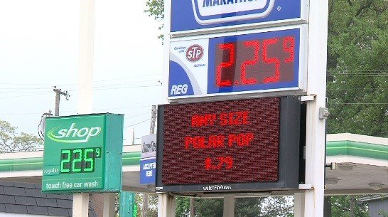Gas prices increase a bit in northern New England