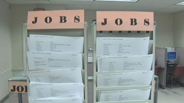Area unemployment numbers tick up in November