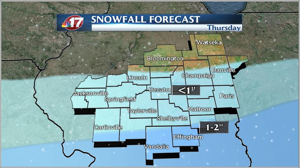 Snow Chances Return Thursday Morning  Wandtvcom