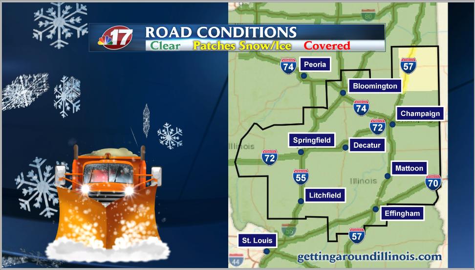 IDOT Winter Road Conditions Chicago news NewsLocker