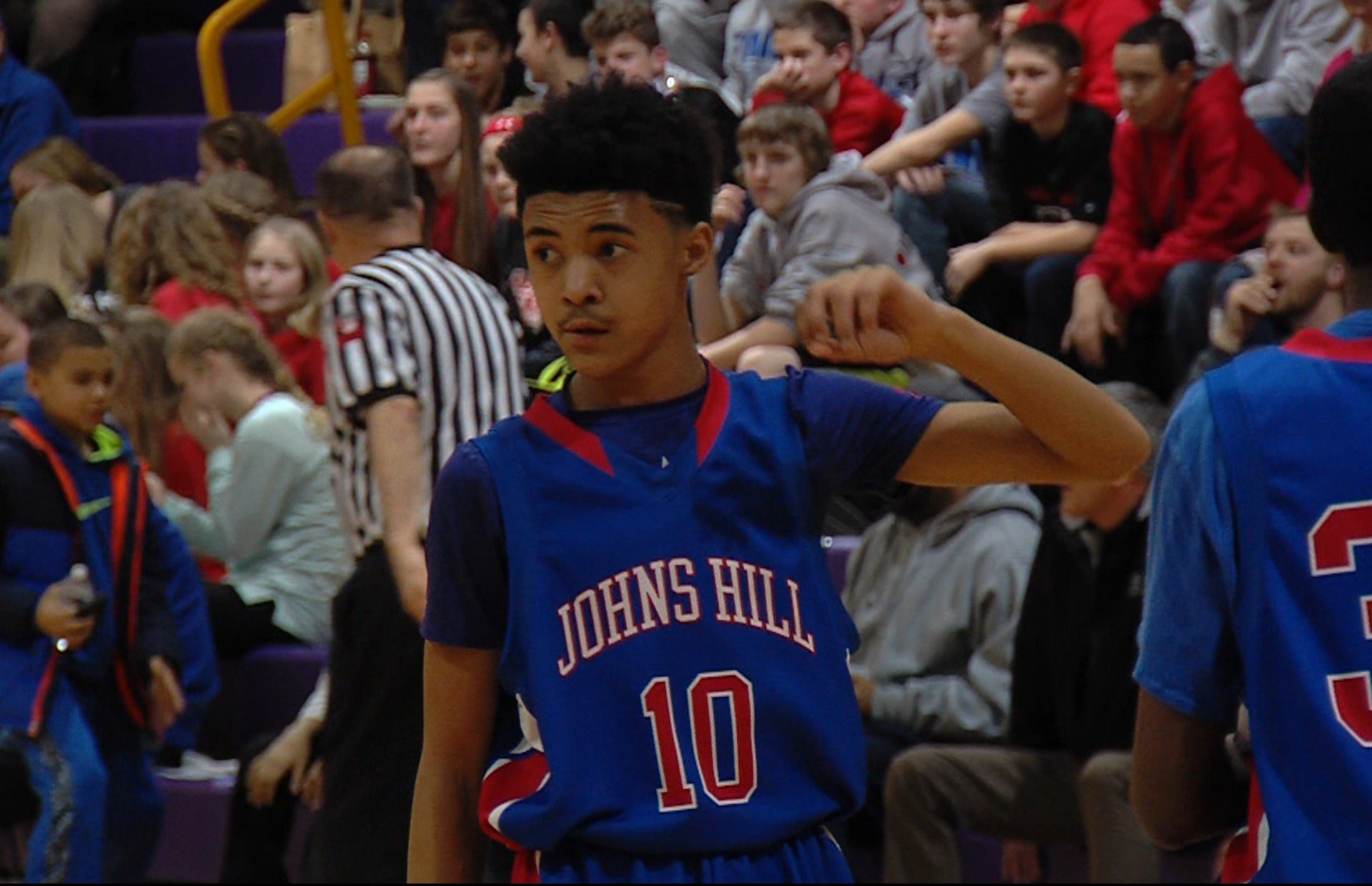 Johns Hill eighth grader RJ Walker had 19 points through three quarters in the 2A state championship game against Jesse White (Hazel Crest) on Thursday night in Mt. Pulaski.