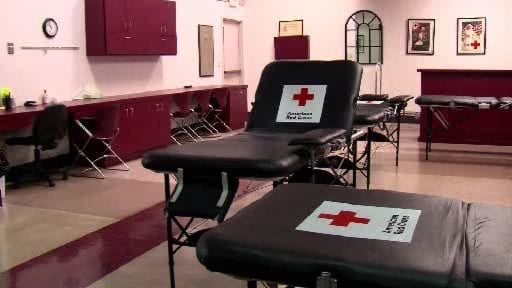 Red Cross Asking For Blood Donations