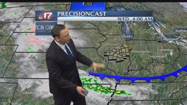 Overnight Forecast  Wandtvcom, NewsCenter17  ~ Wand Tv Jc Fultz