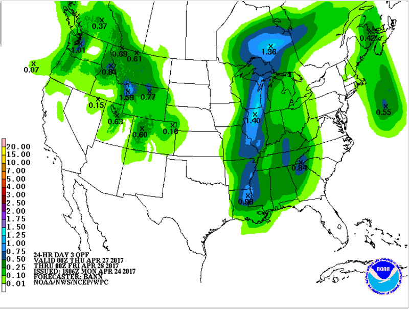 Heavy rain possible mid week and over the weekend  Wandtv  ~ Wand Tv Jc Fultz