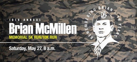 Courtesy of: Brian McMillen Memorial Run/Walk