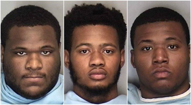 From left to right: Darta Lee, Zarrian Holcombe and Howard Watkins (Provided Photo/Champaign County Sheriff's Office)
