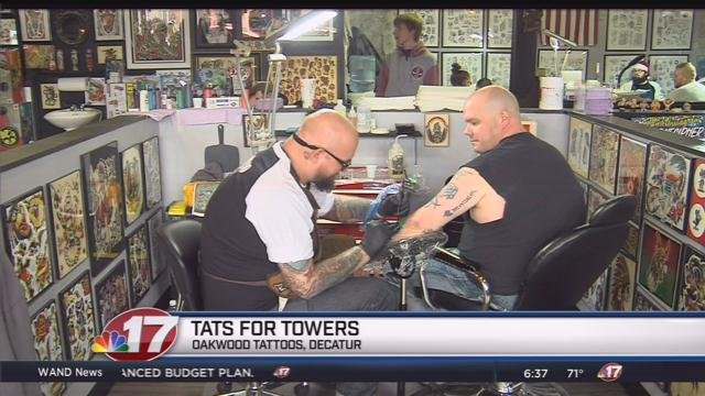 Home newscenter17 stormcenter17 central for Oakwood tattoo decatur il