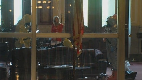 State Capitol On Lockdown After Hazmat Situation Delays House Veto Override Vote