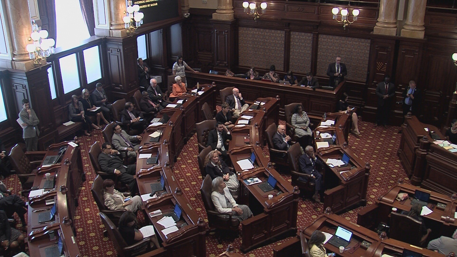 School-funding sponsor calls for House override