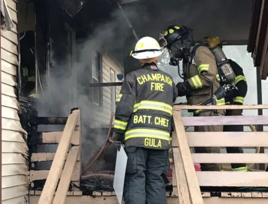 Photo courtesy of Champaign Fire Dept.