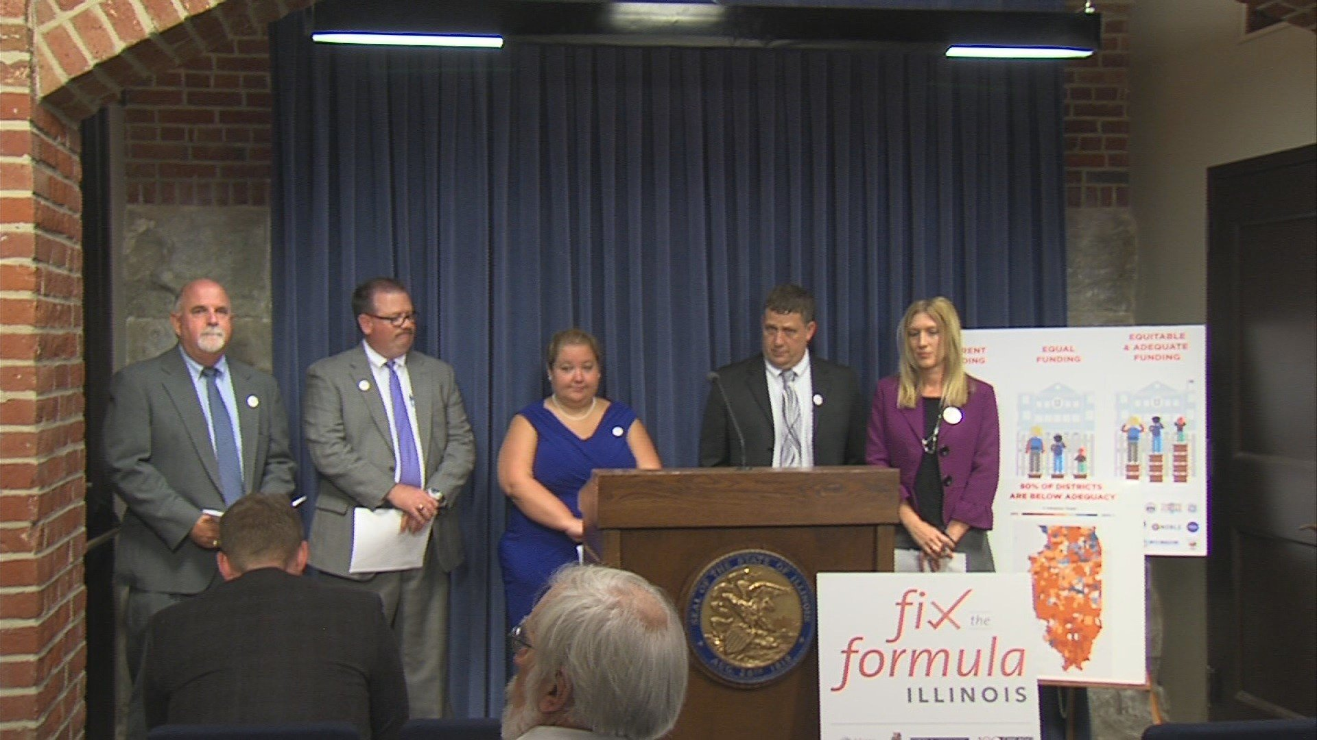 Top Legislative Leaders, Rauner Reach 'Historic' School Funding Reform