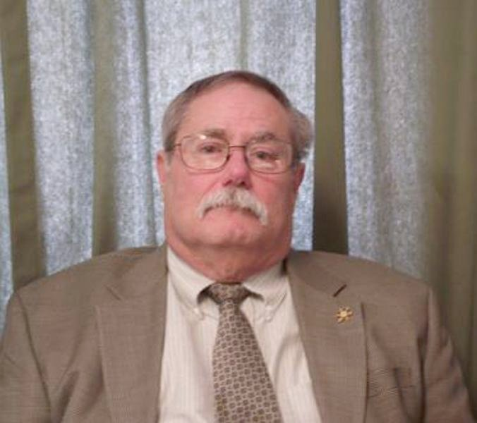 Douglas Co. Coroner Joe Victor. Photo courtesy of The News-Gazette