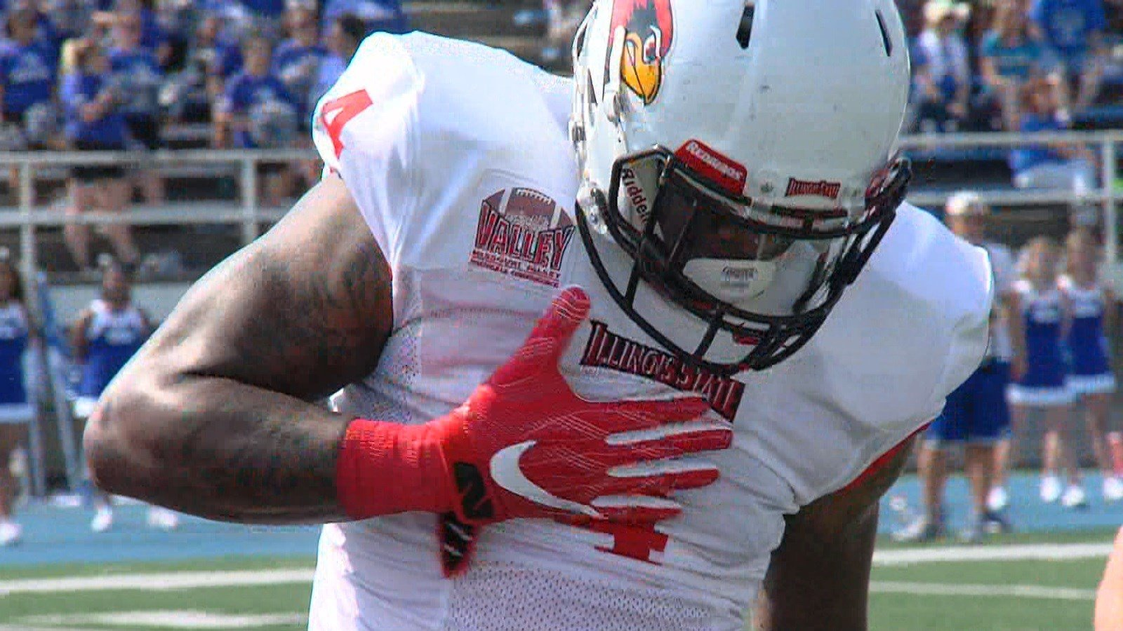 Illinois State linebacker Tyree Horton recorded 11 tackles, 2 sacks and 3.5 tackles for a loss in his first full game since transferring from TCU.