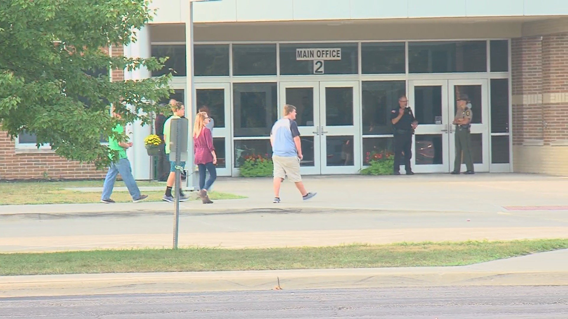 Student Shot In High School Cafeteria; Teacher Subdues Suspect