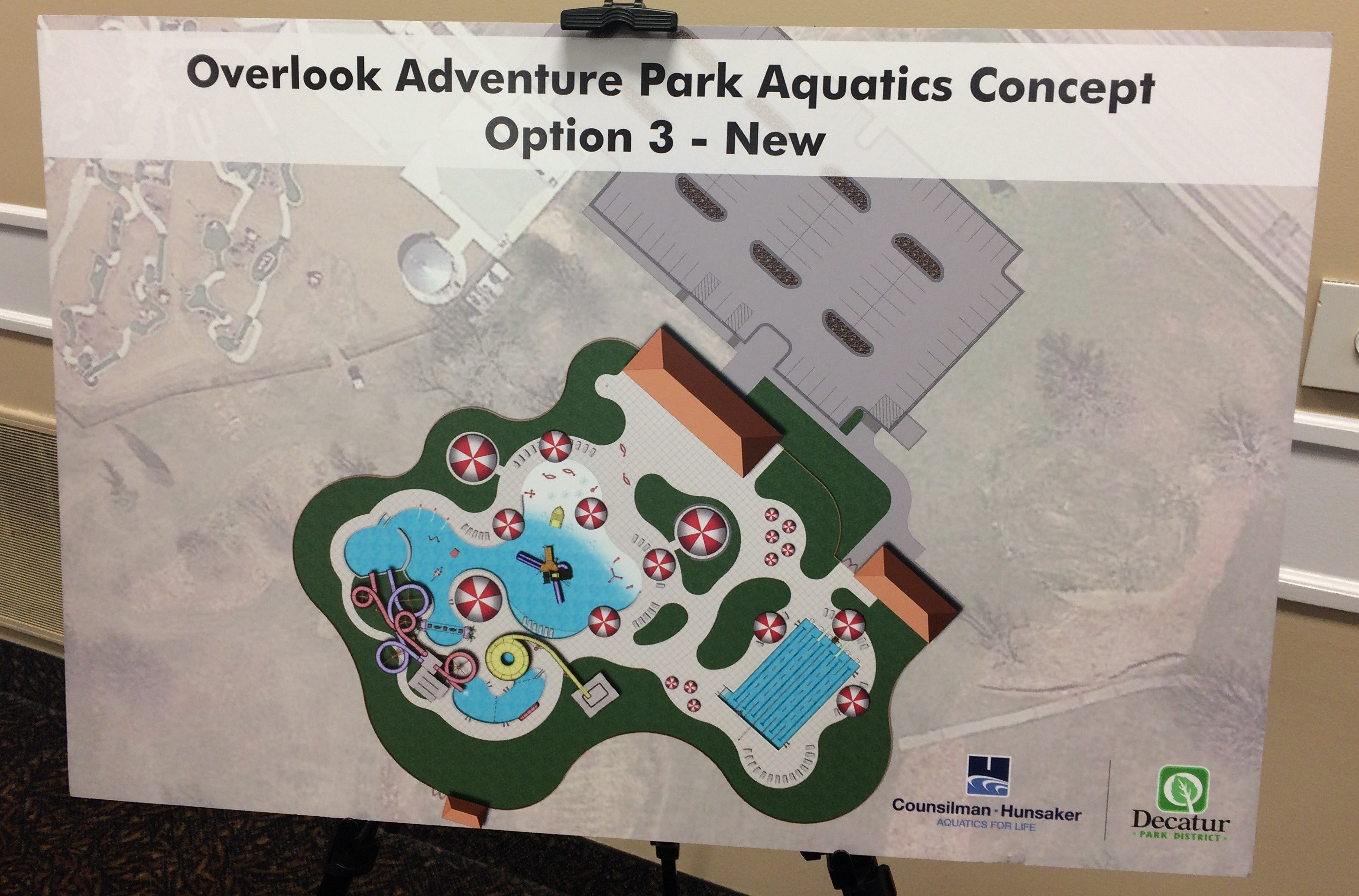 Aquatic Center In Nelson Park Put On Hold