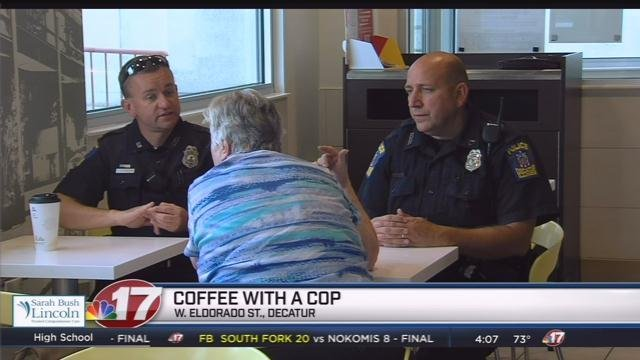 Martinez Police, Main Street team up for 'Coffee With A Cop'