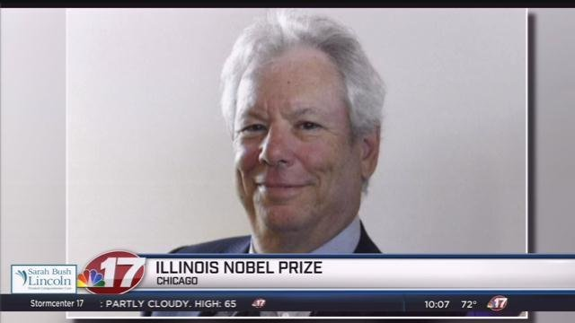 US Academic Richard Thaler Wins Nobel Economics Prize