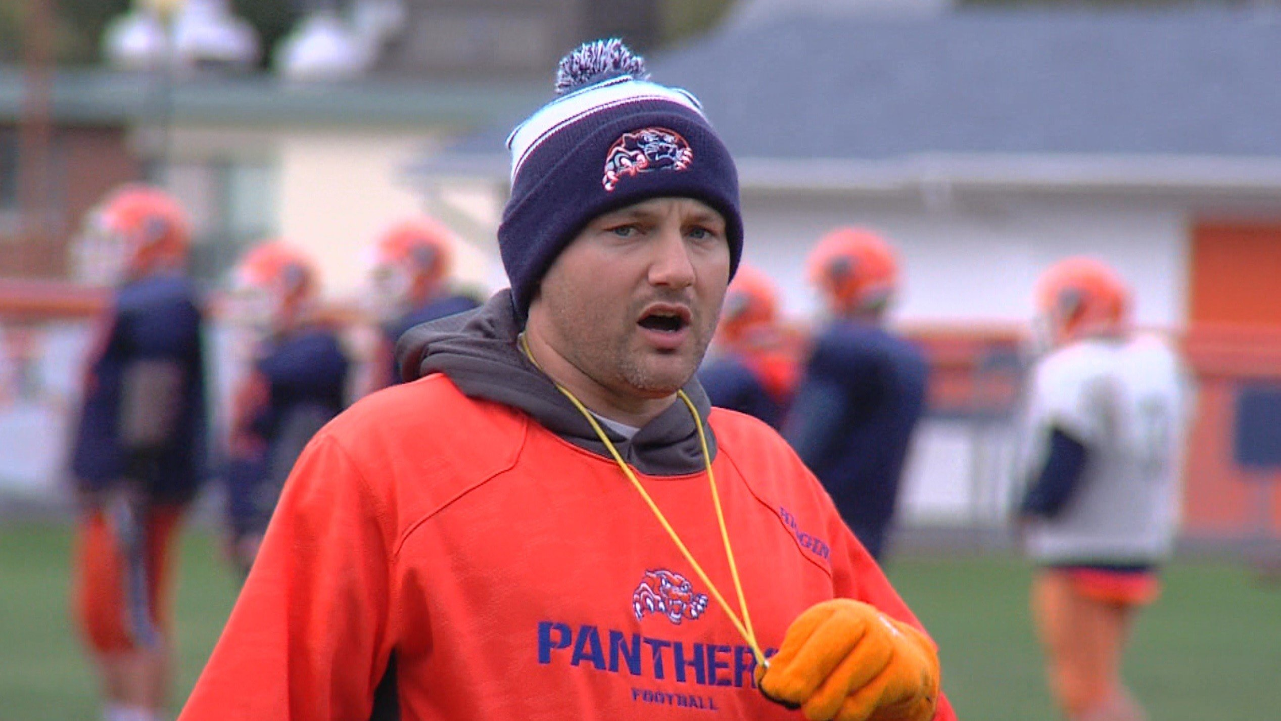 Pana head coach Trevor Higgins has led the Panthers to the 3A playoffs in each of his two seasons since taking over for program great Al Stupek.