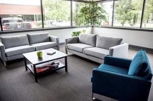Pictured: Academy High lounge area. Photo courtesy of The News-Gazette