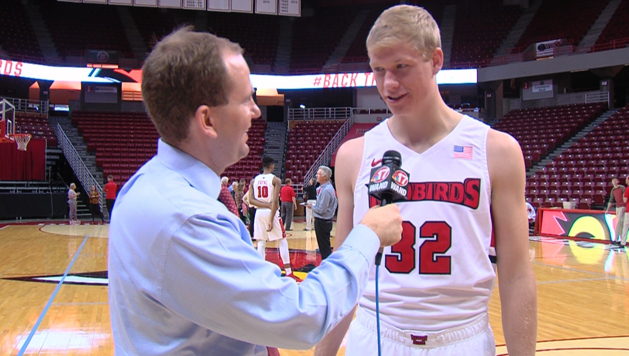 Illinois State freshman Taylor Bruninga (Mapleton, Ill.) posted 9 points and 8 rebounds in 27 minutes in the Redbirds' exhibition win over Lewis on Sunday evening.