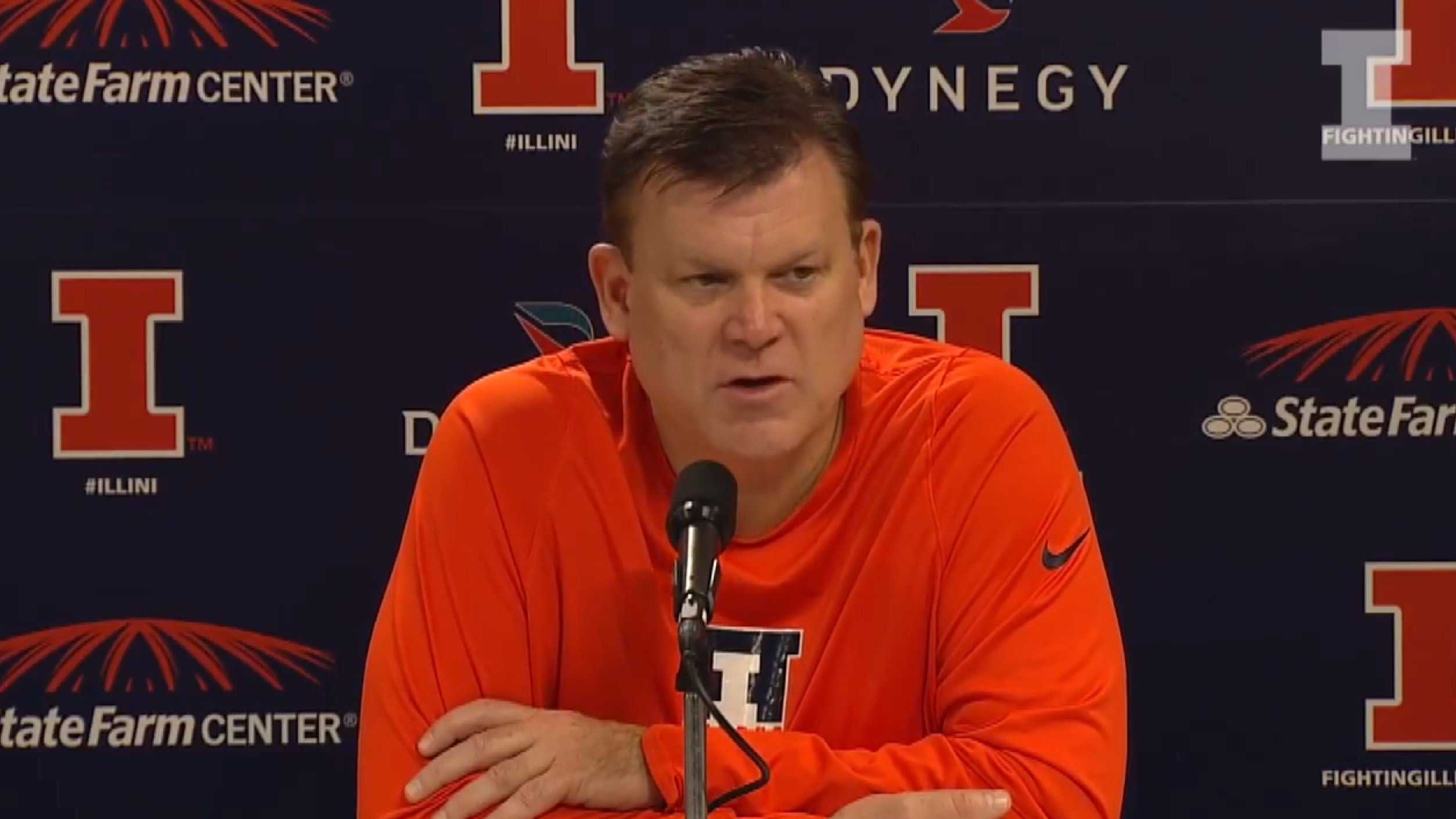 Brad Underwood and the Illini are 2-0 heading into Friday night's showdown with DePaul, which is scheduled for a 7:30 p.m. tipoff.