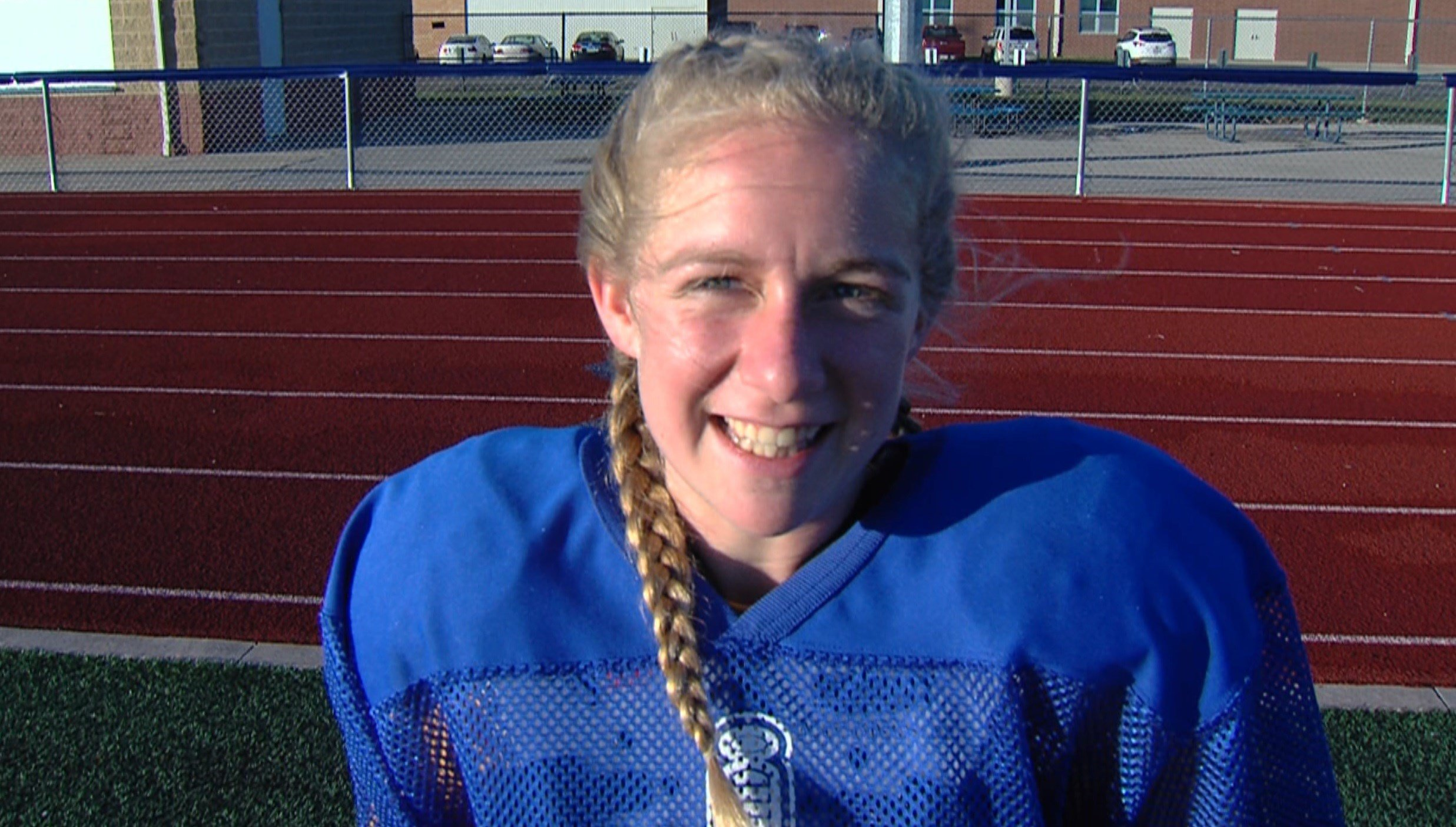 Maroa-Forsyth kicker Reilly Fitzpatrick was named Academic All-State after starting at kicker and posting a perfect 5.0 GPA.