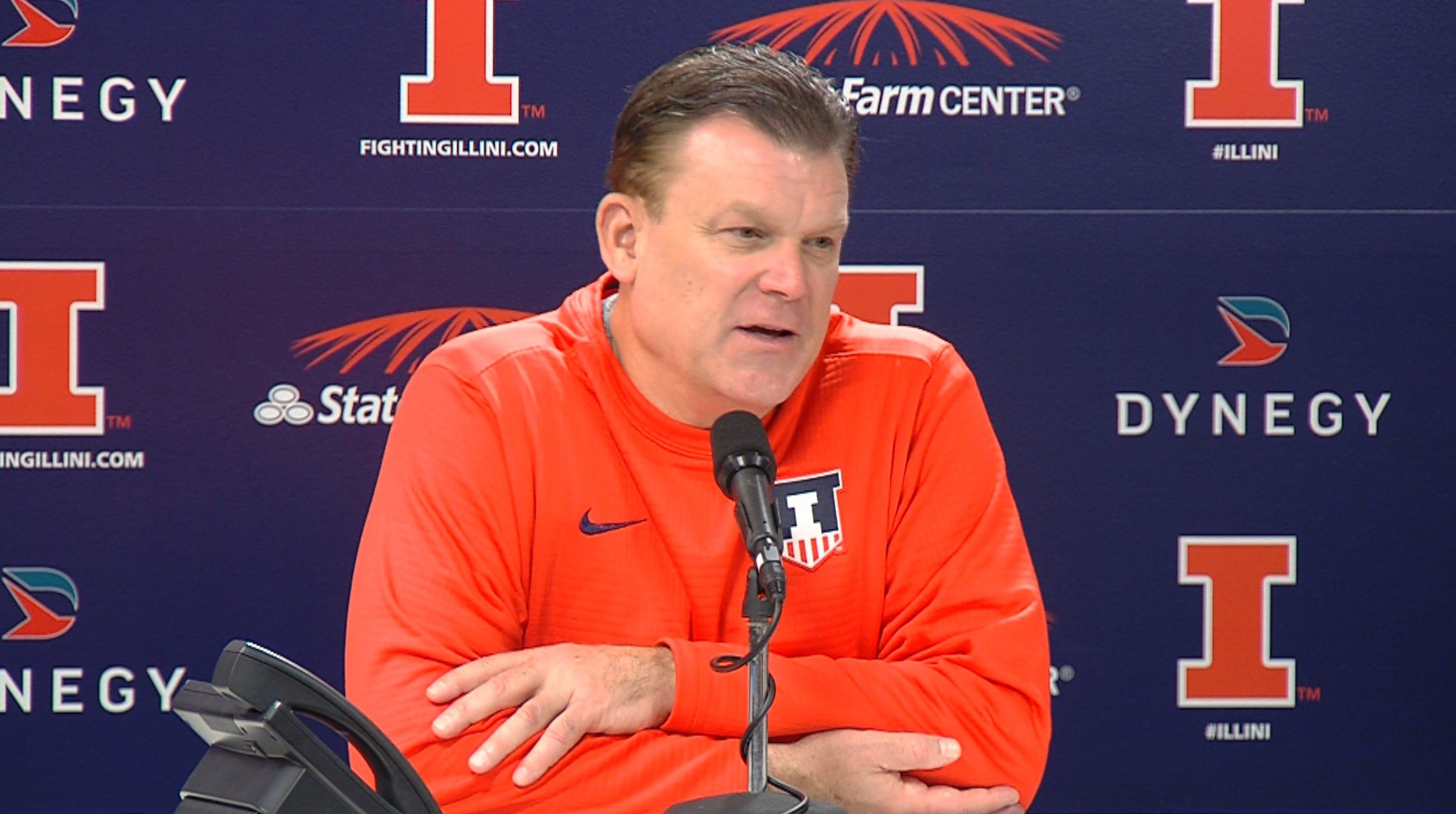 Head coach Brad Underwood built a following of coaches on YouTube going back to his Stephen F. Austin days with his unique style of what's called the spread offense.