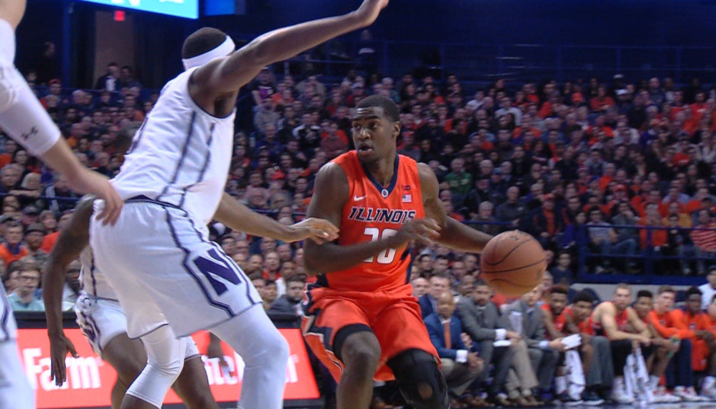 Peoria native Da'Monte Williams has carved out a significant role with the Illini as a freshman, playing 17.8 minutes per game.
