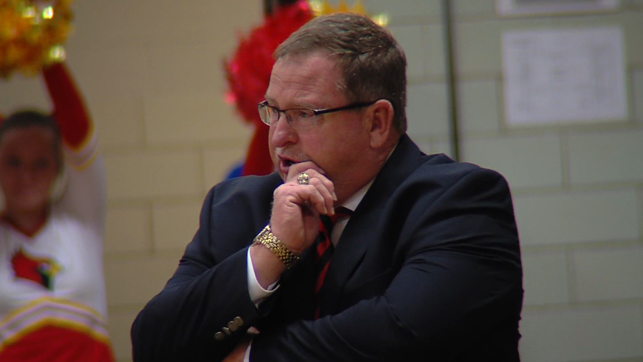 Warrensburg-Latham head coach Vic Binkley and the No. 3 seed Cardinals will play No. 2 seed Central A&M in the Macon County Tournament semifinals on Thursday at 7 p.m. in Cerro Gordo.