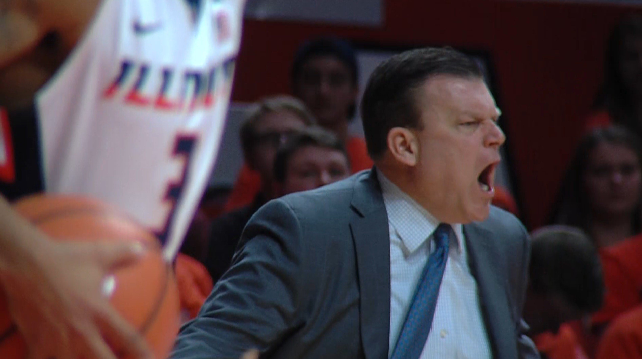 Illinois head coach Brad Underwood has been vocal about his team's turnover struggles, and on Wednesday against Austin Peay the Illini committed 25 of them.