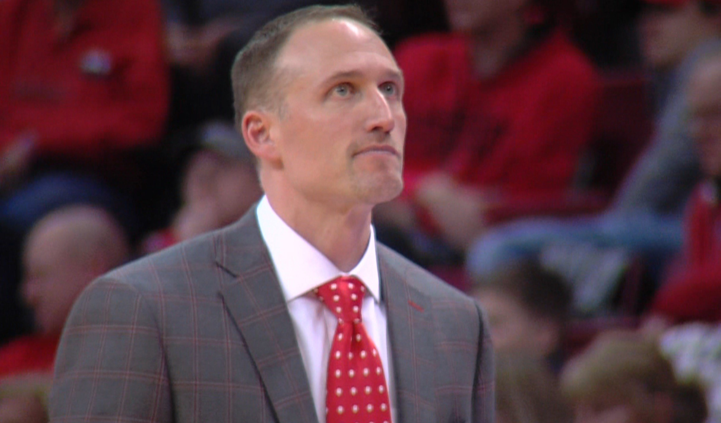 Illinois State head coach Dan Muller and the Redbirds are now 3-2 in Missouri Valley Conference play after falling to Loyola on Wednesday night in Normal.