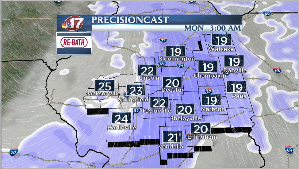 Wind Chill Warning in Effect for the Broadcast Area Tonight