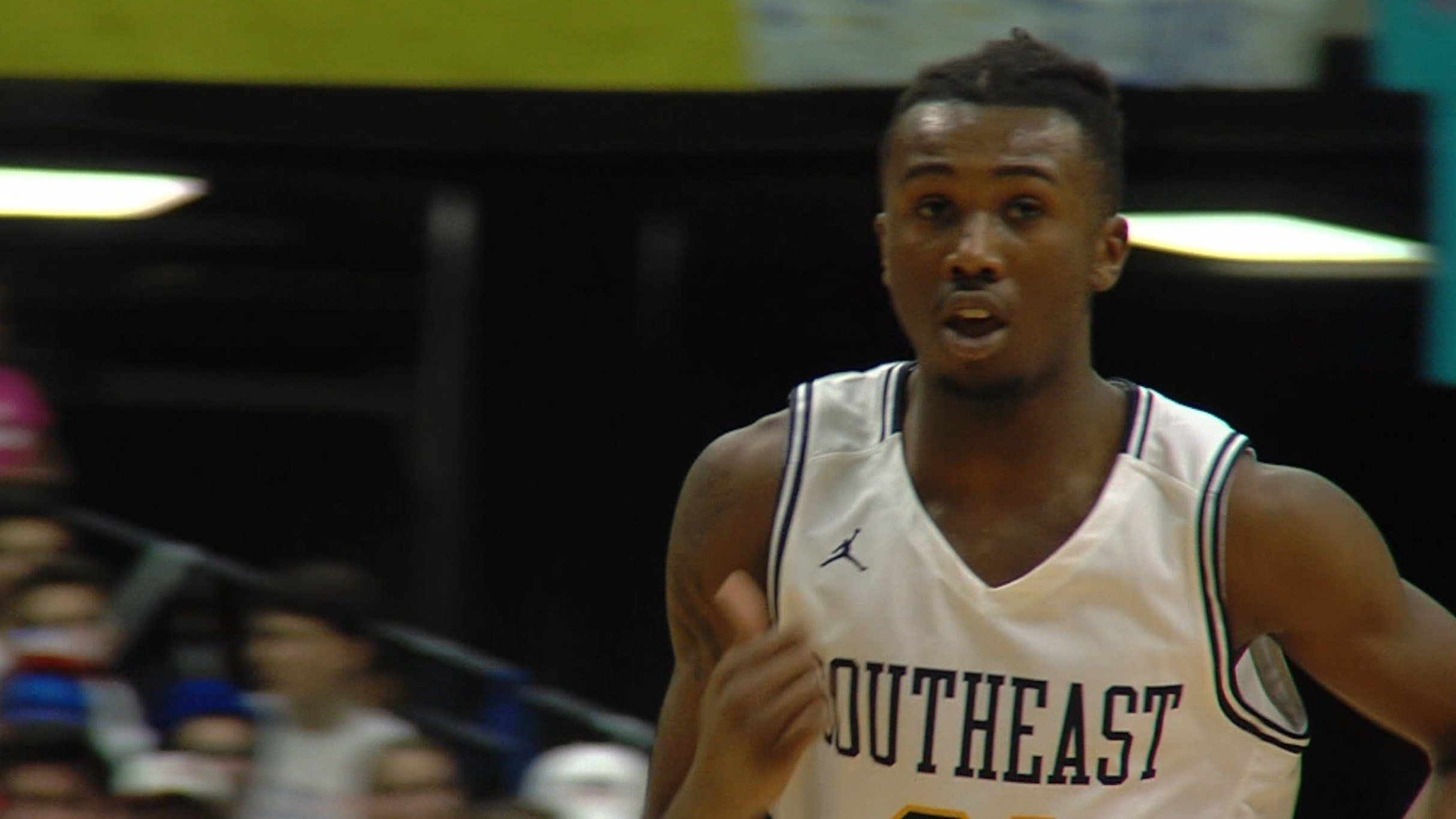Anthony Fairlee helped lead Southeast to the City championship Saturday