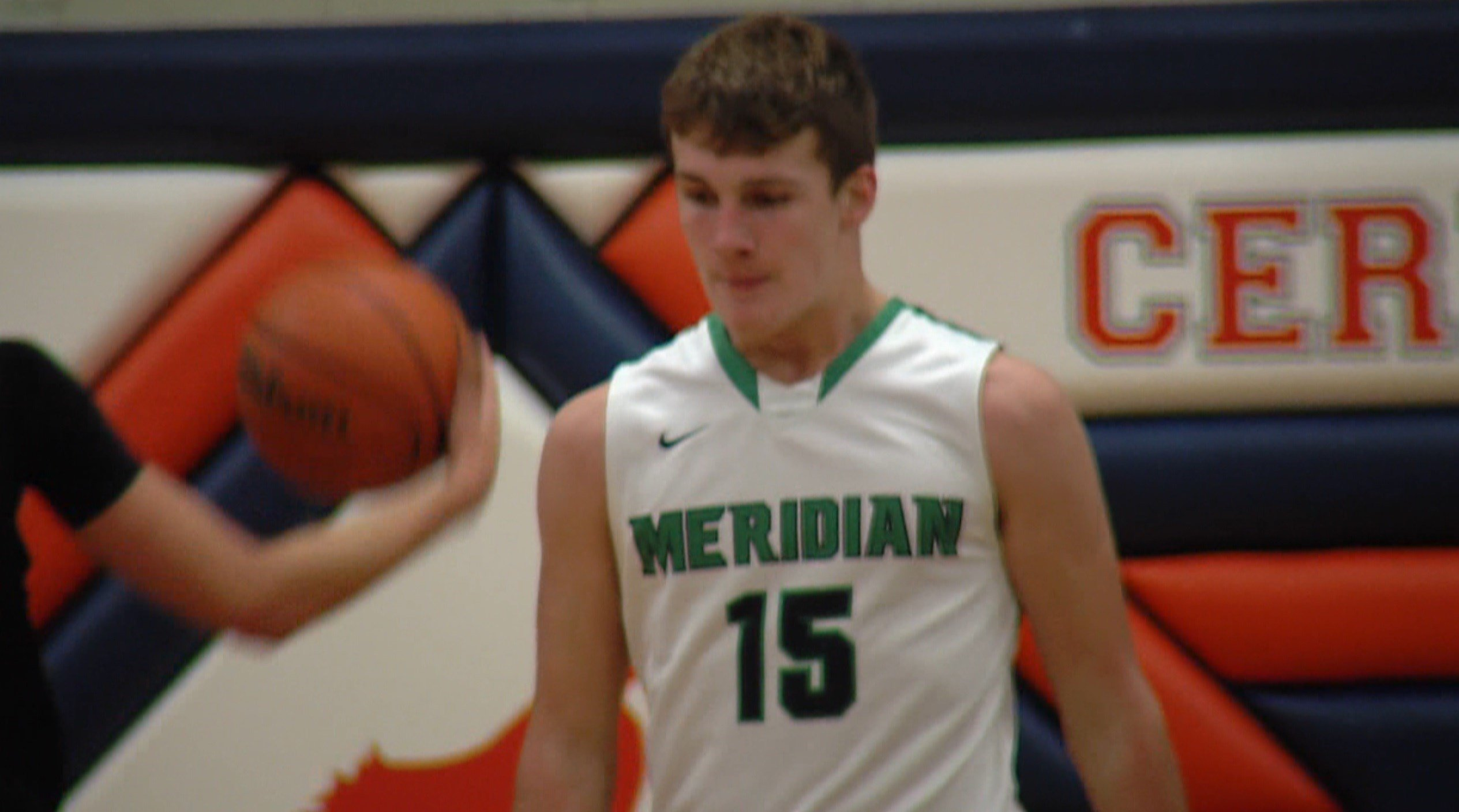 Meridian sophomore forward Jacob Jones scored 18 points in the Hawks' second round win over Tuscola and 19 points in their opening round win over Central A&M.