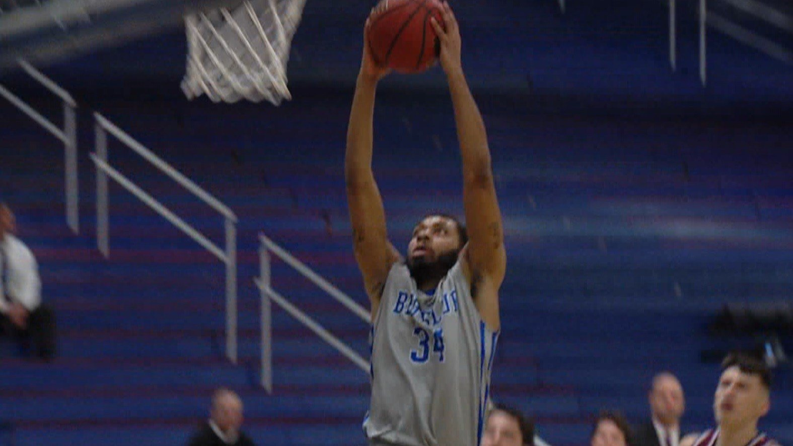Junior college transfer Elijah Henry (Evanston, Ill.) has burst onto the scene in his first year with the Big Blue, leading the team with 16.1 points and 8.2 rebounds per game.