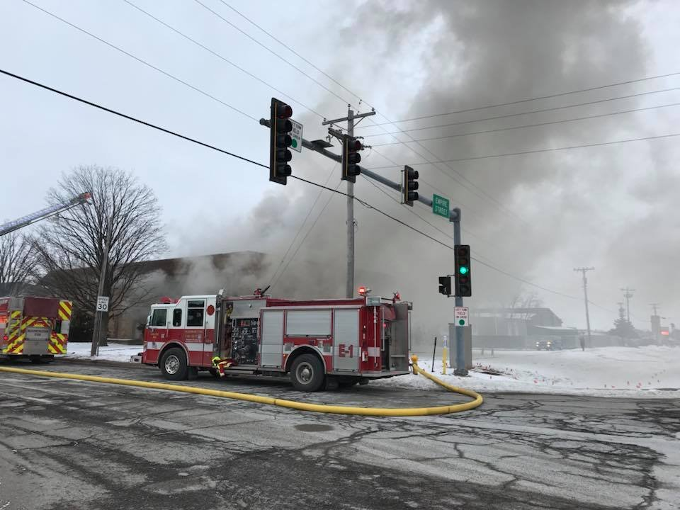 Photo from Bloomington Fire Department