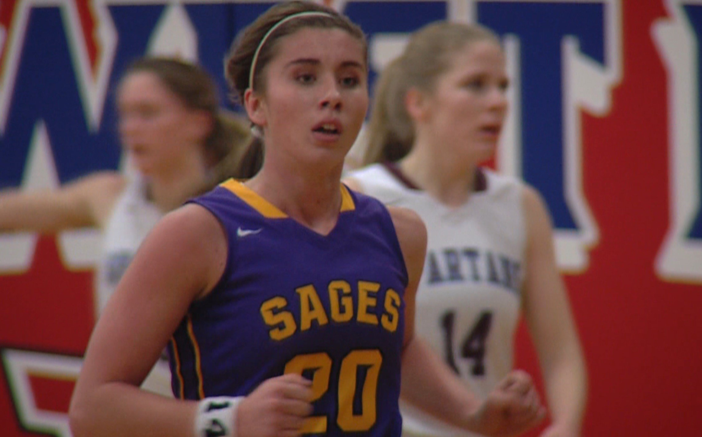 Monticello's Tatum McCall posted 27 points and the No. 3-seeded Sages edged No. 1 seed St. Joseph-Ogden 41-40 in overtime at the Iroquois West Sectional Championship.