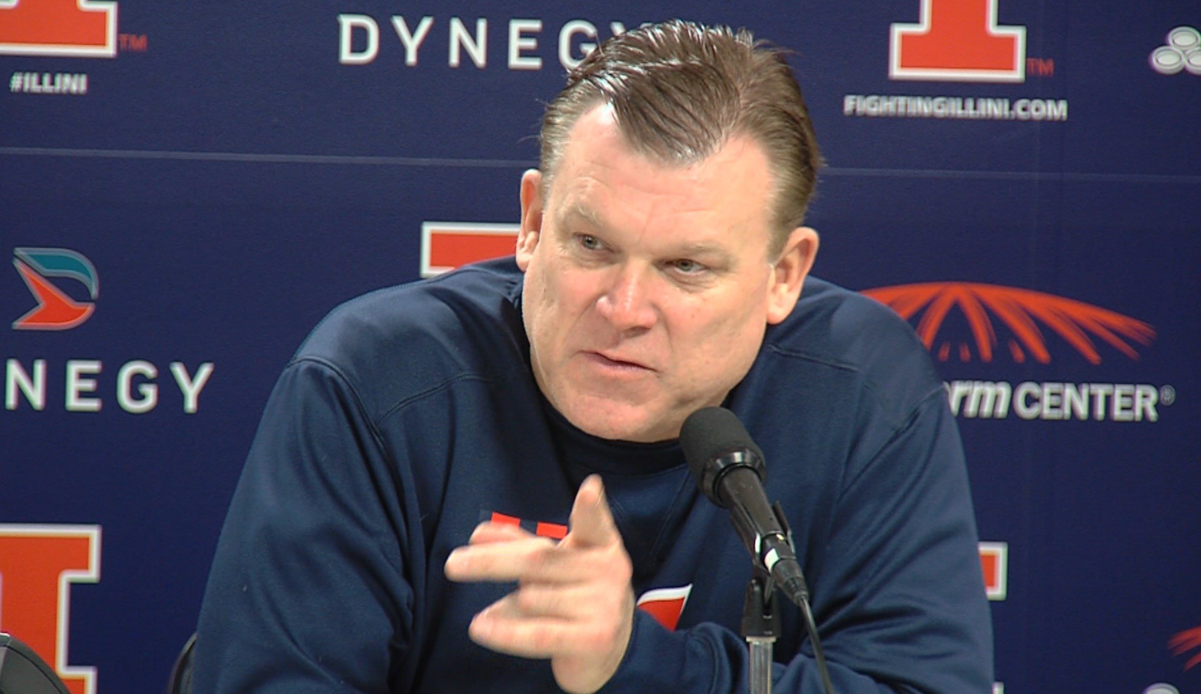 Illinois' Brad Underwood will take on Purdue for the first time in his head coaching career when the Illini welcome the No. 9 Boilermakers to the State Farm Center on Thursday night.