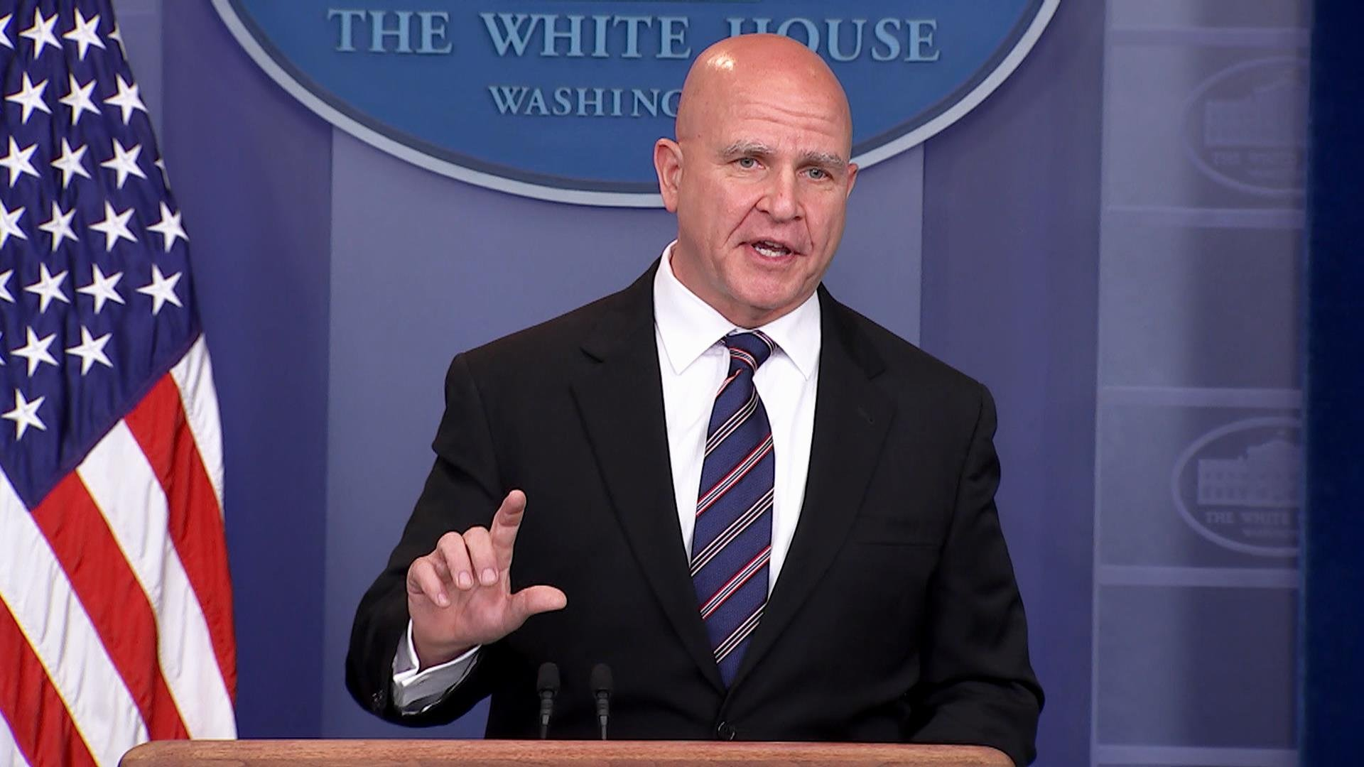 White House denies report that security adviser HR McMaster is being replaced